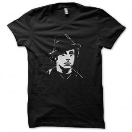 Shirt Rocky Balboa hat artwork blanc/noir pour homme et femme