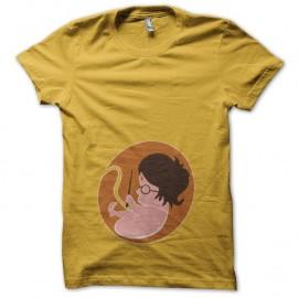Shirt foetus Harry Potter jaune pour homme et femme