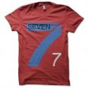 Shirt Seven fighters rouge pour homme et femme