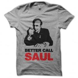 Shirt Breaking Bad Better Call Saul gris pour homme et femme
