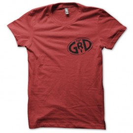 Tee-shirt Groland Made in GRD rouge pour homme et femme