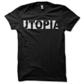Shirt Utopia noir pour homme et femme