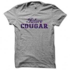 Shirt Future Cougar gris pour homme et femme